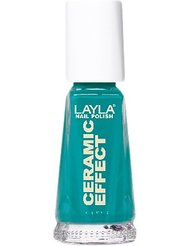 Layla Cosmetics Milano Céramique Effet Vernis à Ongles Miami Green 10 ml