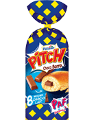 Pitch Brioches Choco Barre choco lait les 8 brioches de 38,75 g