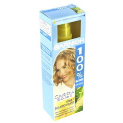 Spray eclaircissant CRISTAL SOLEIL, 100% blonde, 125ml