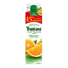 Jus d'orange Tropicana Avec pulpe 1l