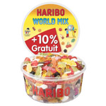 Haribo world mix 1kg