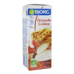 Amande cuisine bio bjorg for Soja cuisine bjorg