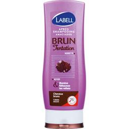 Brun Tentation, apres-shampooing cheveux colores ou meches, le flacon de 200ml