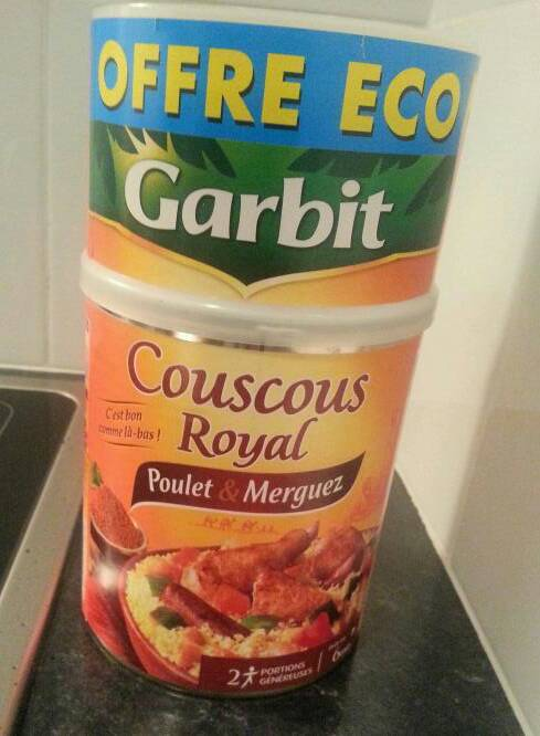 Couscous Royal poulet & merguez