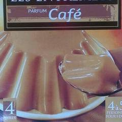 Preparation pour flan au cafe U, 4 doses, 180g