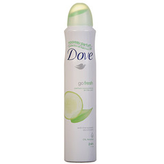 Dove Deodorant atomiseur Go Fresh Concombre/the vert 200ml