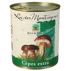 Borde cèpes 455g
