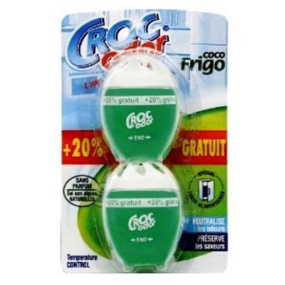 absorbeur d 39 odeurs coco frigo croc 39 odor x2 tous les produits d sodorisants prixing. Black Bedroom Furniture Sets. Home Design Ideas