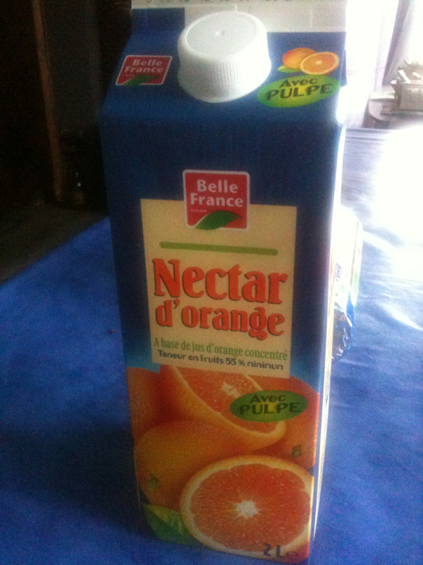 Nectar d'orange ABC Bk 2Lt