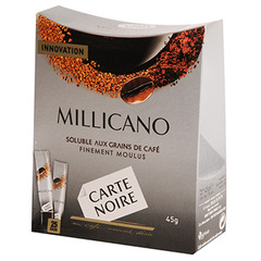 Carte Noire cafe soluble millicano sticks 45g