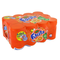 Fanta orange mini-boites 12x15cl