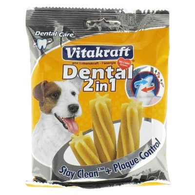 Sticks Dental 2 in 1 Stay Clean + plaque Control pour chiens
