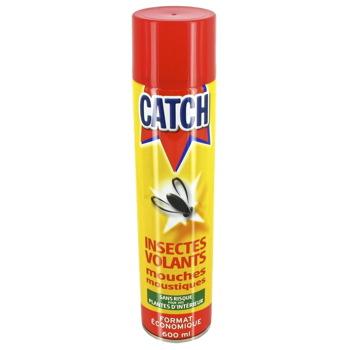 Catch insecticide multi insectes volants mouches moustiques la bombe de 600ml tous les - Produit pour tuer les mouches ...