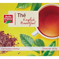 Belle France Thé Breakfast 50 Sachets 87 g - Lot de 3