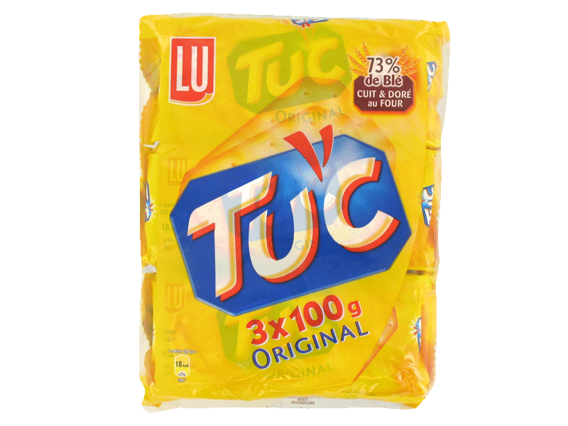 Tuc Crackers sales triopack 3x100g