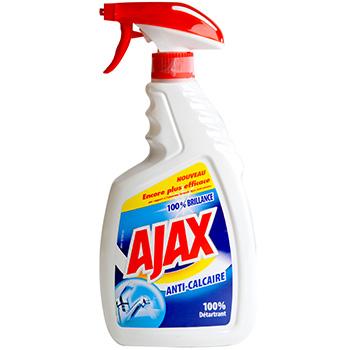 Ajax anti calcaire spray 750ml tous les produits for Produit anti calcaire