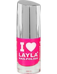 Layla Cosmetics Milano I Love Layla Vernis à Ongles Dark Ping Fluo 5 ml