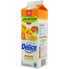 Boisson lactee Jafaden Orange mangue 1l