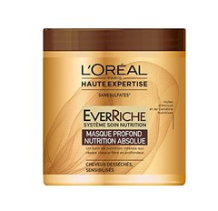 Masque profond nutrition ultime ever riche HAUTE EXPERTISE, pot de 200ml