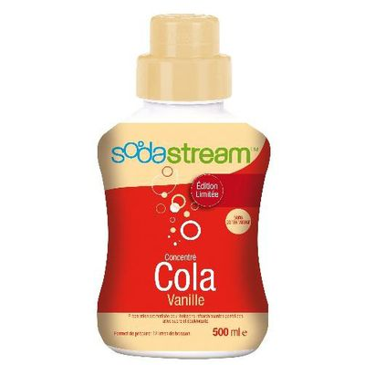 Sodastream, Concentre cola vanille, la bouteille de 500 ml