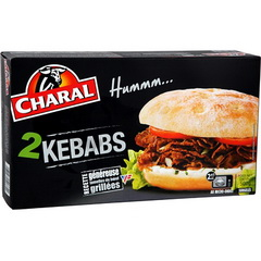 Charal micro one kebabs 2x250g