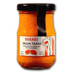 SALSA TAPAS ROUGE BOCAL 100G