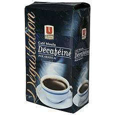 Cafe moulu decafeine arabica U 1 x 250g