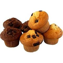Muffins assortis choco/nature