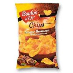 Chips saveur barbecue, Le sachet 135G