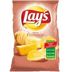 Chips saveur fromage Lay's sachet 120g