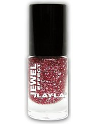 Layla Cosmetics Milano Jewel Effet Vernis à Ongles Coral 5 ml