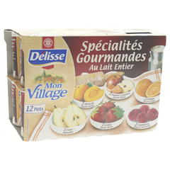 Yaourts fruits Delisse Specialites gourmandes 12x125g