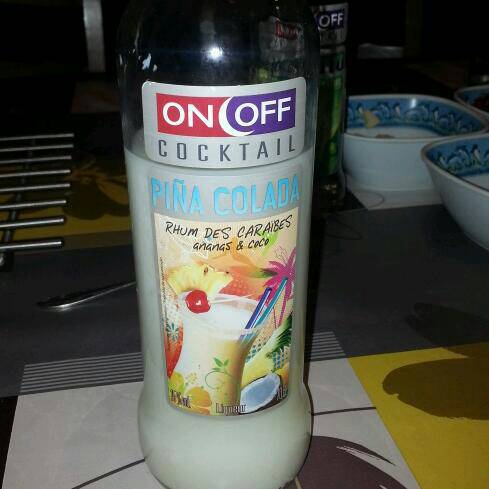On Off, Cocktail Pina Colada, la bouteille de 70cl