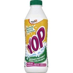 YAOURT A BOIRE YOP AROMATISE ANANAS PECHE CEREALES 850GX1