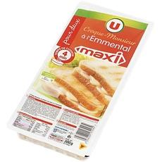 2 Maxi Croque Monsieur a l'emmental U, 300g