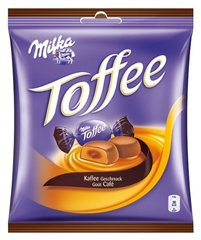 Milka, Toffee cafe, le paquet de 213 gr