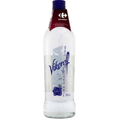 Vodka pure grain Vikoroff 37,5°