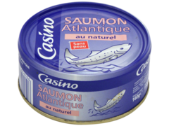 Saumon de l?atlantique au naturel (sans peau)