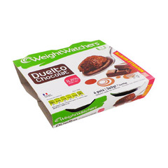 DESSERT WEIGHT WATCHERS DUELTO CHOCOLAT 100GX4