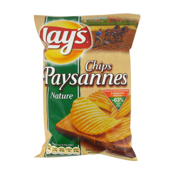 Chips paysannes nature Lay's