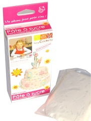 Pate a sucre blanche SCRAP COOKING, 500g