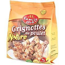 Grignottes de poulet nature Family Club, 250g