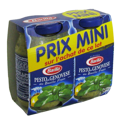 BARILLA LOT PESTO GENOVESE 190G X 2