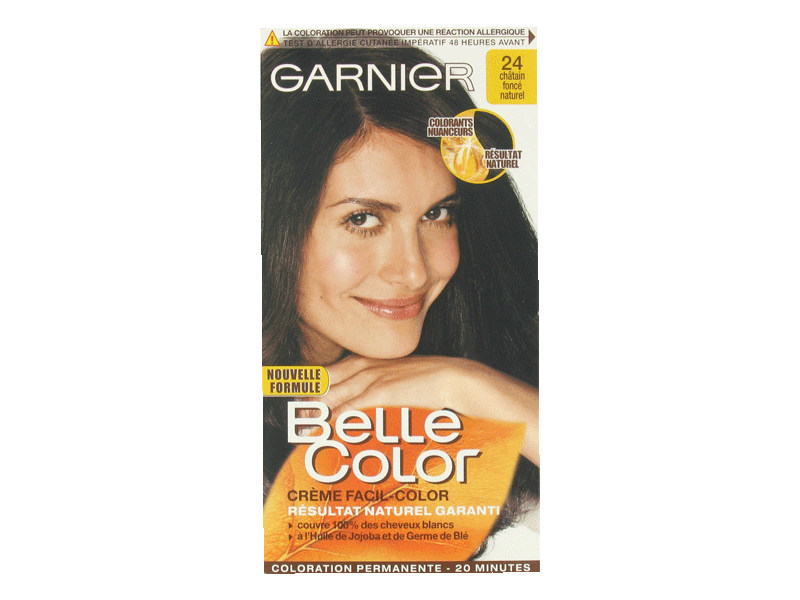 Creme Facil-color chatain fonce naturel 24 - Belle Color
