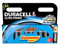 Ultra Power - 8 piles AA Integre la technologie POWERCHECK - La pile alcaline la plus puissante de Duracell