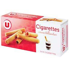 Biscuits cigarettes U, 200g
