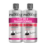 shampooing expert volume lot 2x750ml franck provost