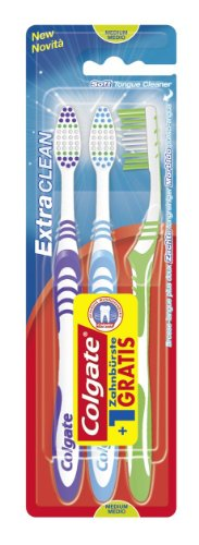 COLGATE BROSSE À DENTS MEDIUM 3U,