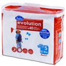 Auchan Baby changes evolution 12/18kg x40 taille 5