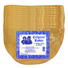 12 Crepes de froment CREPERIE ROBIN, 400g
